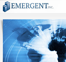 Emergent Inc. - Web Design and Web Development Project in Charleston SC