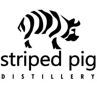 Striped Pig Distillery Logo Design