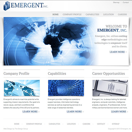 Web design in Charleston SC by The Design Group