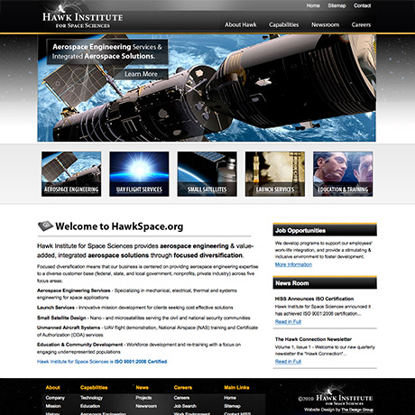 HISS Web Design Project in Charleston SC