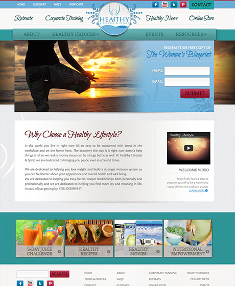 Discover Seabrook Web design in Charleston SC by The Design Group