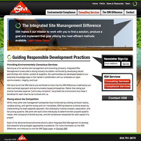 Integrated Site Management - Web Design, Web Development and Programming by TDG