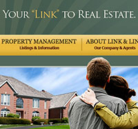 Charleston Web Design for Link and Link Real Estate - The Design Group