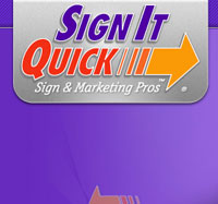North Charleston web design project for Sign It Quick